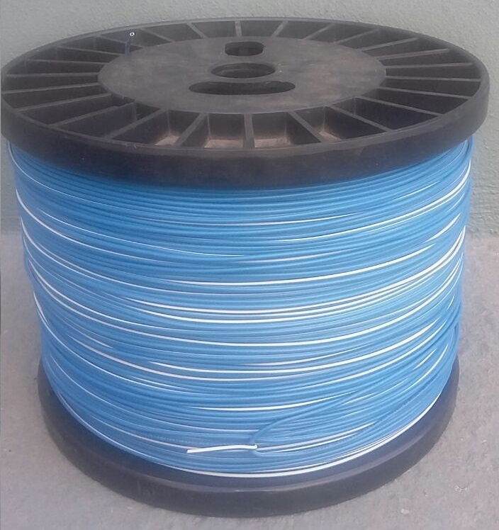 CABLE THW-LS 18 AWG AZUL C/FRANJA BLANCA (C/500M) – Ingenieria Electrica